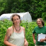 Amy Frost, Circle Mountain Farm, and Mike Ghia, UVM Ext.